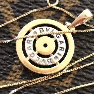 18 Karat Saudi Gold BVGARiI necklace & 14K Chain